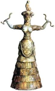 Greek Minoan Snake Goddess