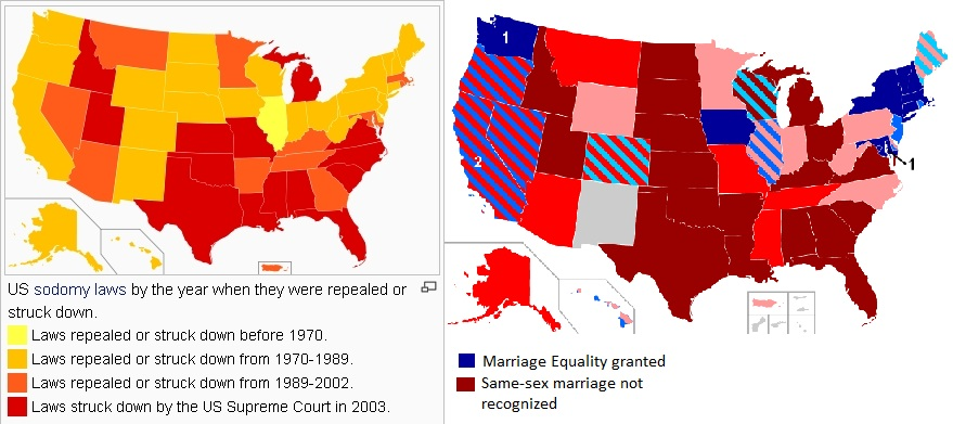 from Quincy map of gay marriage states