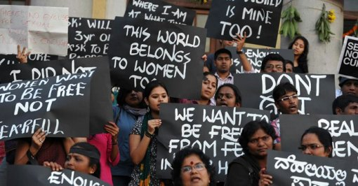 Delhi Rape Victim Protest