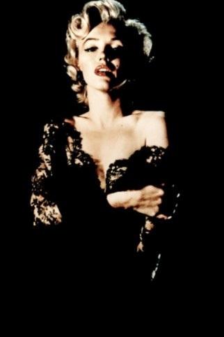 Julie Gentron - Plastica Marylin Monroe Black Lame