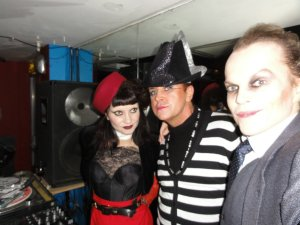 Steve Strange and Princess Julia