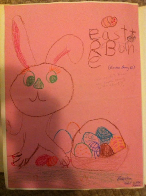 Brandon Art - Easter Bunny