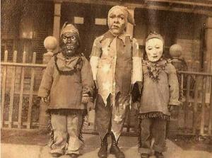 Halloween - Creepy Vintage Masks Costumes