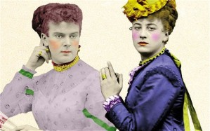 Fanny and Stella Victorian Photography I