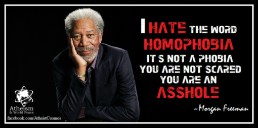 Morgan Freeman Homophobia