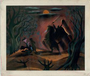 Mary Blair - Headless Horseman